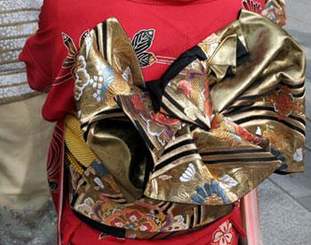 Obi ceinture geisha